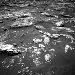 Nasa's Mars rover Curiosity acquired this image using its Right Navigation Camera on Sol 1707, at drive 1714, site number 63