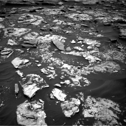 Nasa's Mars rover Curiosity acquired this image using its Right Navigation Camera on Sol 1707, at drive 1744, site number 63