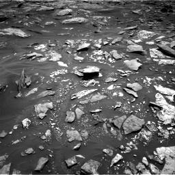 Nasa's Mars rover Curiosity acquired this image using its Right Navigation Camera on Sol 1707, at drive 1768, site number 63