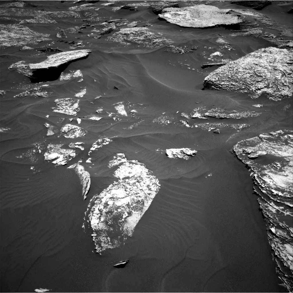 Nasa's Mars rover Curiosity acquired this image using its Right Navigation Camera on Sol 1707, at drive 1798, site number 63