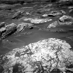 Nasa's Mars rover Curiosity acquired this image using its Right Navigation Camera on Sol 1707, at drive 1816, site number 63