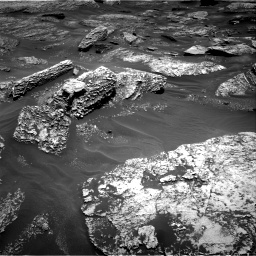 Nasa's Mars rover Curiosity acquired this image using its Right Navigation Camera on Sol 1707, at drive 1822, site number 63