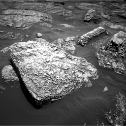 Nasa's Mars rover Curiosity acquired this image using its Right Navigation Camera on Sol 1707, at drive 1834, site number 63