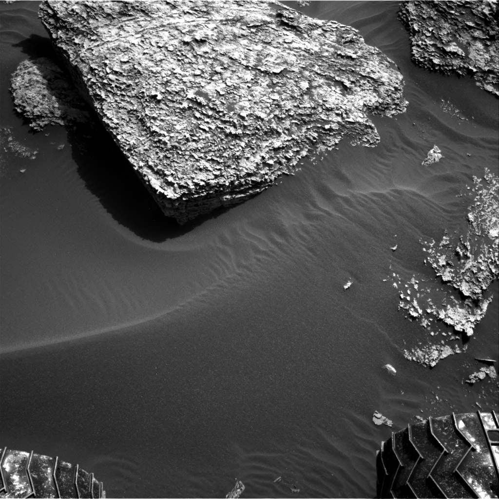 Nasa's Mars rover Curiosity acquired this image using its Right Navigation Camera on Sol 1707, at drive 1840, site number 63