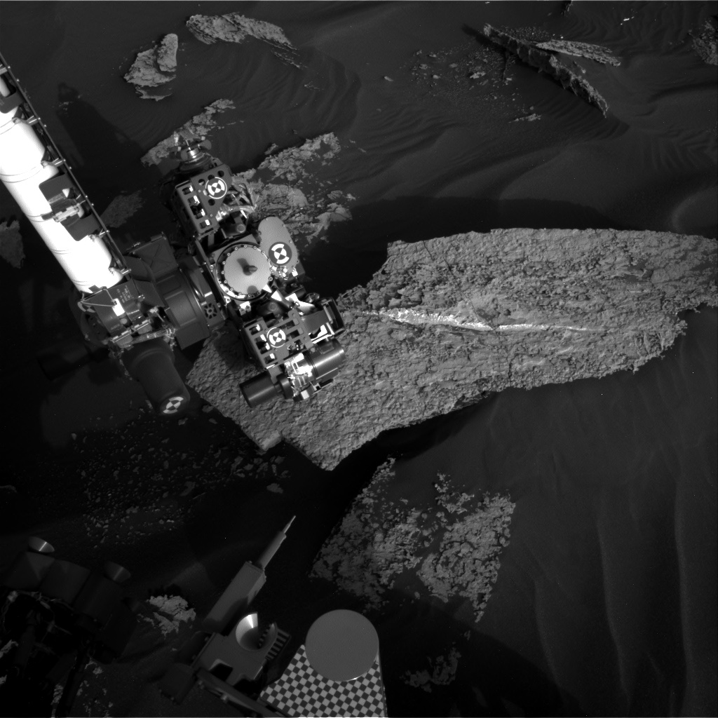 Nasa's Mars rover Curiosity acquired this image using its Right Navigation Camera on Sol 1710, at drive 1840, site number 63