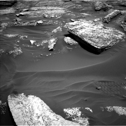 Nasa's Mars rover Curiosity acquired this image using its Left Navigation Camera on Sol 1711, at drive 1894, site number 63