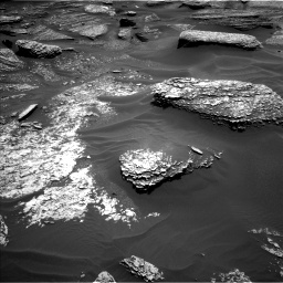 Nasa's Mars rover Curiosity acquired this image using its Left Navigation Camera on Sol 1711, at drive 1972, site number 63