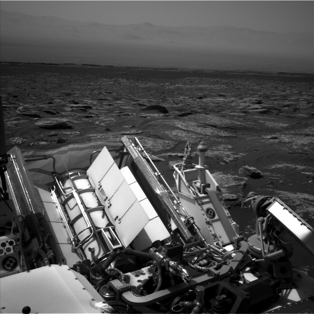 Nasa's Mars rover Curiosity acquired this image using its Left Navigation Camera on Sol 1711, at drive 2008, site number 63