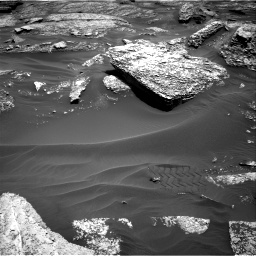 Nasa's Mars rover Curiosity acquired this image using its Right Navigation Camera on Sol 1711, at drive 1894, site number 63