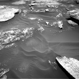 Nasa's Mars rover Curiosity acquired this image using its Right Navigation Camera on Sol 1711, at drive 1906, site number 63