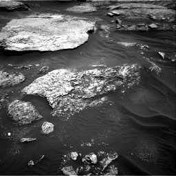 Nasa's Mars rover Curiosity acquired this image using its Right Navigation Camera on Sol 1711, at drive 1918, site number 63