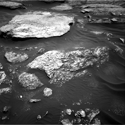 Nasa's Mars rover Curiosity acquired this image using its Right Navigation Camera on Sol 1711, at drive 1924, site number 63