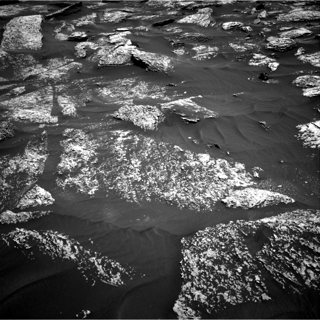 Nasa's Mars rover Curiosity acquired this image using its Right Navigation Camera on Sol 1711, at drive 1942, site number 63