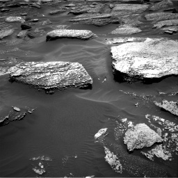 Nasa's Mars rover Curiosity acquired this image using its Right Navigation Camera on Sol 1711, at drive 1954, site number 63