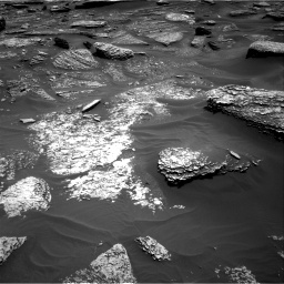 Nasa's Mars rover Curiosity acquired this image using its Right Navigation Camera on Sol 1711, at drive 1978, site number 63