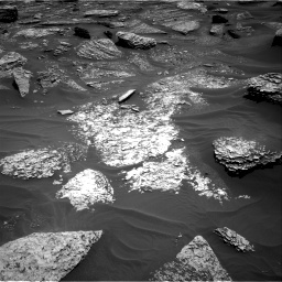 Nasa's Mars rover Curiosity acquired this image using its Right Navigation Camera on Sol 1711, at drive 1990, site number 63
