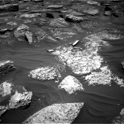 Nasa's Mars rover Curiosity acquired this image using its Right Navigation Camera on Sol 1711, at drive 1996, site number 63