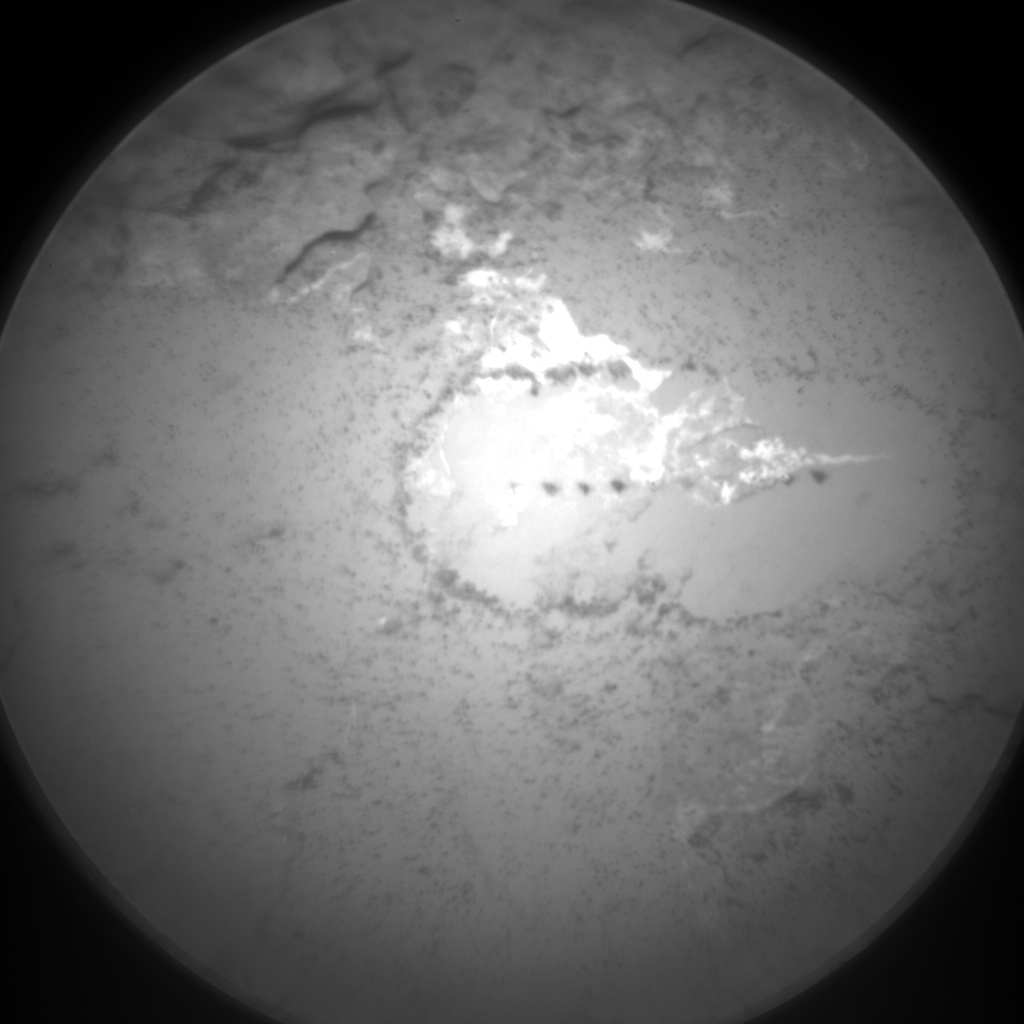 Nasa's Mars rover Curiosity acquired this image using its Chemistry & Camera (ChemCam) on Sol 1712, at drive 2008, site number 63