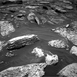 Nasa's Mars rover Curiosity acquired this image using its Right Navigation Camera on Sol 1712, at drive 2008, site number 63