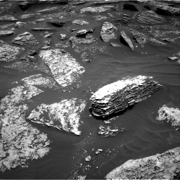 Nasa's Mars rover Curiosity acquired this image using its Right Navigation Camera on Sol 1712, at drive 2014, site number 63