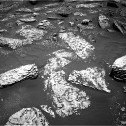 Nasa's Mars rover Curiosity acquired this image using its Right Navigation Camera on Sol 1712, at drive 2020, site number 63