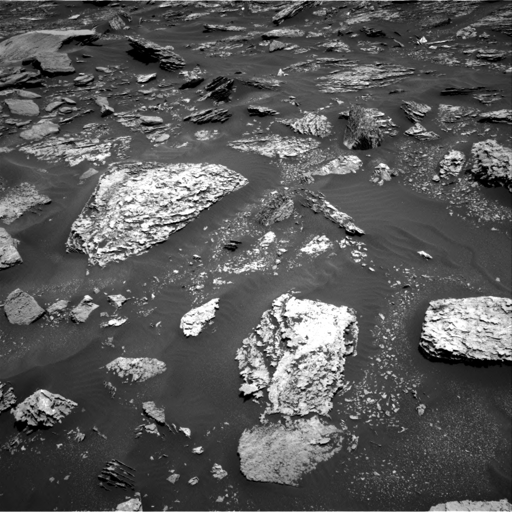 Nasa's Mars rover Curiosity acquired this image using its Right Navigation Camera on Sol 1712, at drive 2026, site number 63