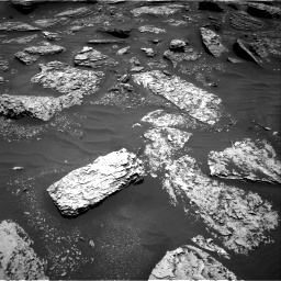 Nasa's Mars rover Curiosity acquired this image using its Right Navigation Camera on Sol 1712, at drive 2044, site number 63