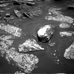 Nasa's Mars rover Curiosity acquired this image using its Right Navigation Camera on Sol 1712, at drive 2056, site number 63