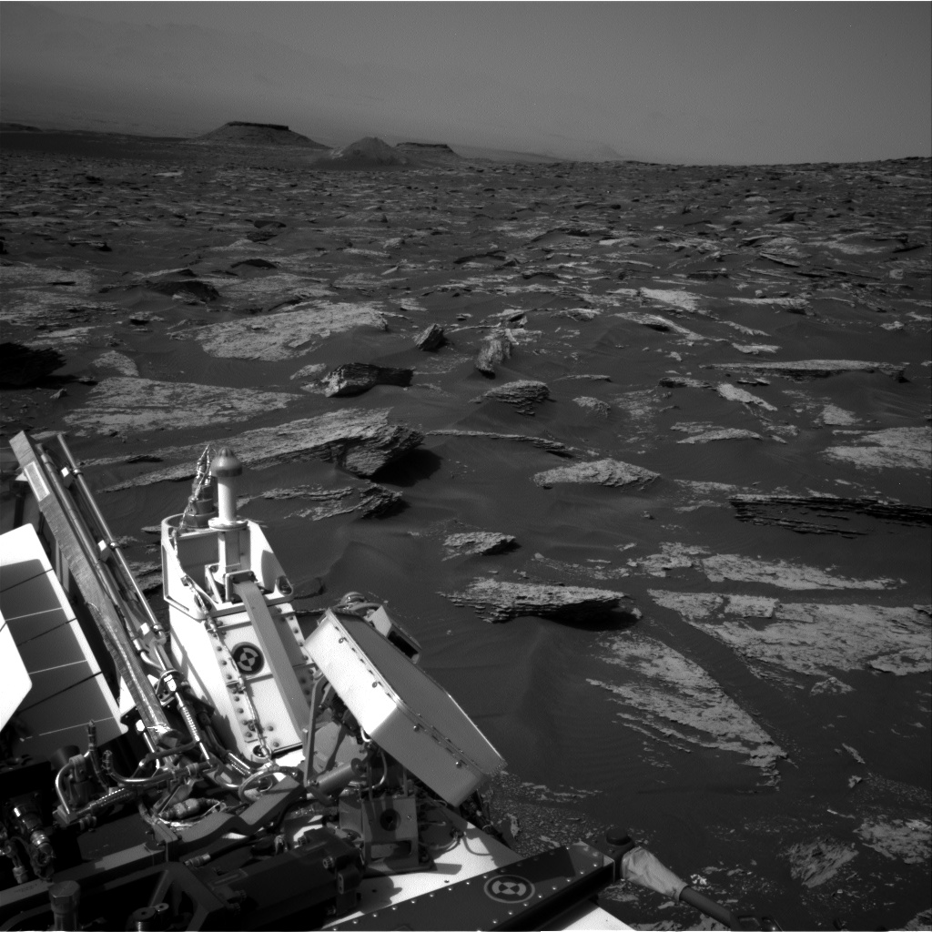 Nasa's Mars rover Curiosity acquired this image using its Right Navigation Camera on Sol 1712, at drive 2086, site number 63