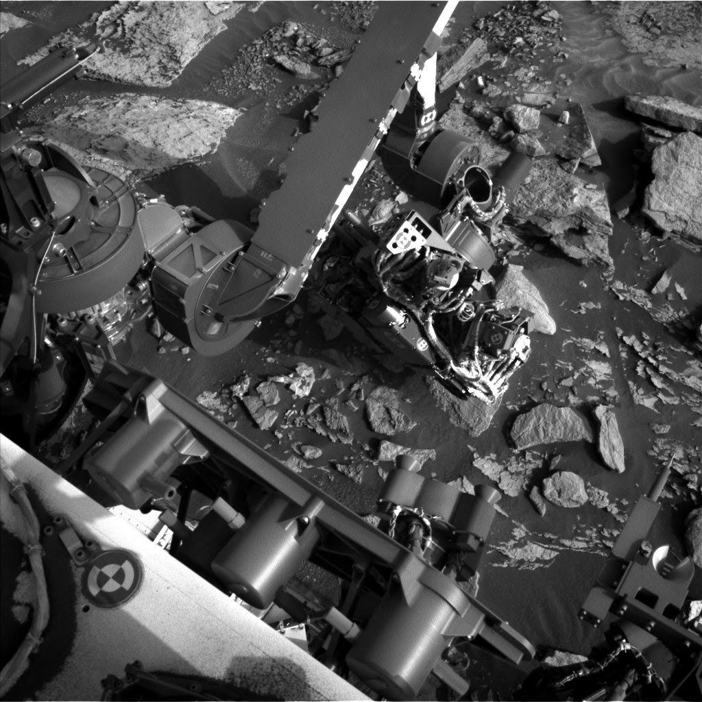 Nasa's Mars rover Curiosity acquired this image using its Left Navigation Camera on Sol 1714, at drive 2086, site number 63