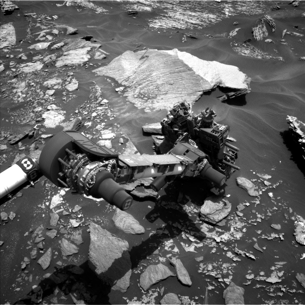 Nasa's Mars rover Curiosity acquired this image using its Left Navigation Camera on Sol 1716, at drive 2086, site number 63