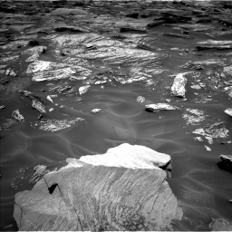 Nasa's Mars rover Curiosity acquired this image using its Left Navigation Camera on Sol 1717, at drive 2122, site number 63