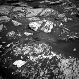 Nasa's Mars rover Curiosity acquired this image using its Left Navigation Camera on Sol 1717, at drive 2194, site number 63
