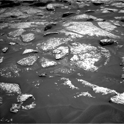 Nasa's Mars rover Curiosity acquired this image using its Left Navigation Camera on Sol 1717, at drive 2236, site number 63