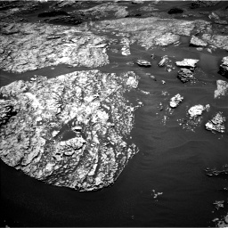 Nasa's Mars rover Curiosity acquired this image using its Left Navigation Camera on Sol 1717, at drive 2278, site number 63