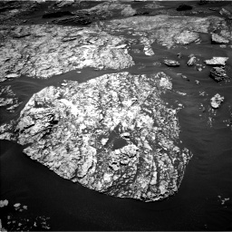 Nasa's Mars rover Curiosity acquired this image using its Left Navigation Camera on Sol 1717, at drive 2284, site number 63