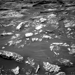 Nasa's Mars rover Curiosity acquired this image using its Right Navigation Camera on Sol 1717, at drive 2104, site number 63