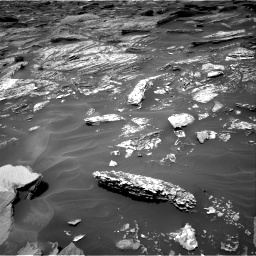 Nasa's Mars rover Curiosity acquired this image using its Right Navigation Camera on Sol 1717, at drive 2110, site number 63