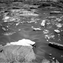 Nasa's Mars rover Curiosity acquired this image using its Right Navigation Camera on Sol 1717, at drive 2122, site number 63