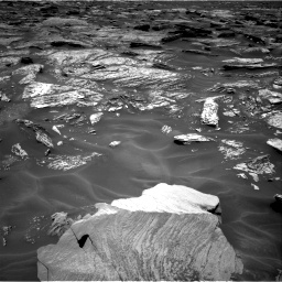 Nasa's Mars rover Curiosity acquired this image using its Right Navigation Camera on Sol 1717, at drive 2128, site number 63