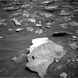 Nasa's Mars rover Curiosity acquired this image using its Right Navigation Camera on Sol 1717, at drive 2164, site number 63