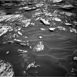 Nasa's Mars rover Curiosity acquired this image using its Right Navigation Camera on Sol 1717, at drive 2176, site number 63