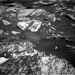 Nasa's Mars rover Curiosity acquired this image using its Right Navigation Camera on Sol 1717, at drive 2188, site number 63
