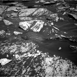 Nasa's Mars rover Curiosity acquired this image using its Right Navigation Camera on Sol 1717, at drive 2194, site number 63