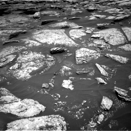 Nasa's Mars rover Curiosity acquired this image using its Right Navigation Camera on Sol 1717, at drive 2224, site number 63