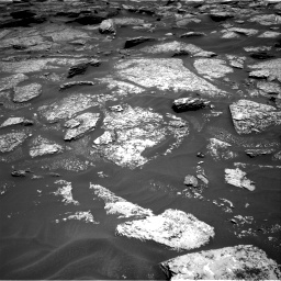 Nasa's Mars rover Curiosity acquired this image using its Right Navigation Camera on Sol 1717, at drive 2230, site number 63