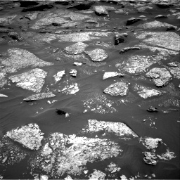 Nasa's Mars rover Curiosity acquired this image using its Right Navigation Camera on Sol 1717, at drive 2248, site number 63