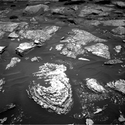 Nasa's Mars rover Curiosity acquired this image using its Right Navigation Camera on Sol 1717, at drive 2266, site number 63