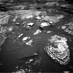 Nasa's Mars rover Curiosity acquired this image using its Right Navigation Camera on Sol 1717, at drive 2272, site number 63