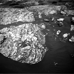 Nasa's Mars rover Curiosity acquired this image using its Right Navigation Camera on Sol 1717, at drive 2284, site number 63